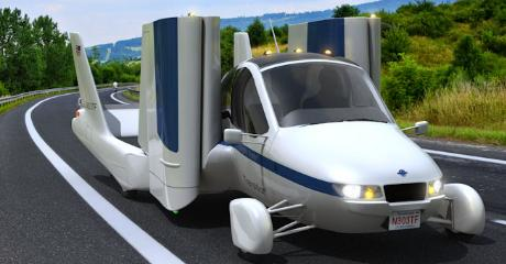 Flying car 'Transition' gets road approval from NHTSA