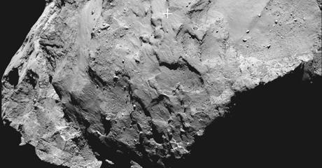Philae's primary landing site - ESA/Rosetta/MPS for OSIRIS Team MPS/UPD/LAM/IAA/SSO/INTA/UPM/DASP/IDA