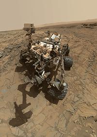 NASA JPL-CaltechMSSS -Mars curiosity rover msl big sky selfie portrait