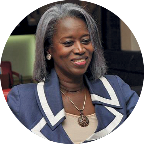 Aminata Niane, Interim Manager for the return of the African Development Bank to its registered offices in Abidjan