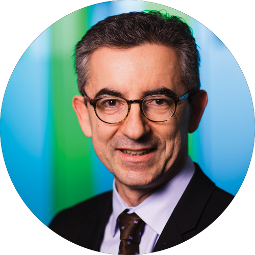 Gilles Grapinet, Senior Executive Vice President, Global Functions and Worldline Chief Executive Officer