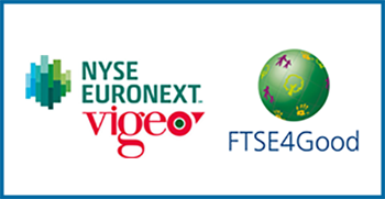 Logo Nyse Euronext Vigeo and FTSE4Good