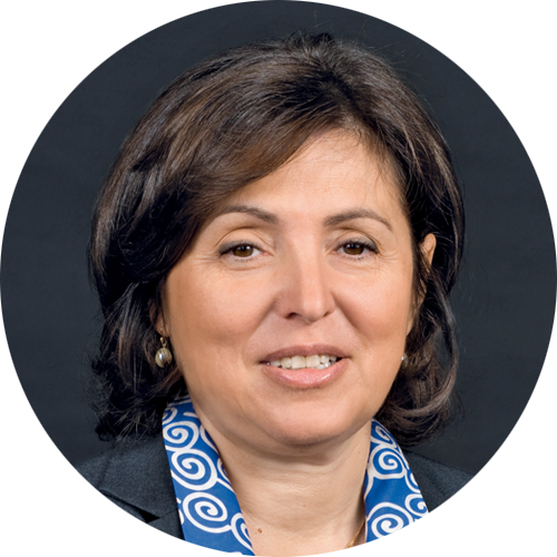 Valerie Bernis, Executive Vice-President of Engie in charge of Communications, Marketing, Environmental & Societal Responsibility