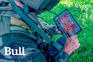 Poste SICS niveau combatant vehicule VAB, equipement Felin, FAMAS Futur Systeme d'information du combat de Scorpion Atos