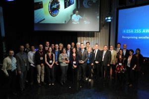 the Europe Space Agency ISS award