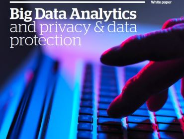Big Data Analytics and Privacy and Data Protection - White