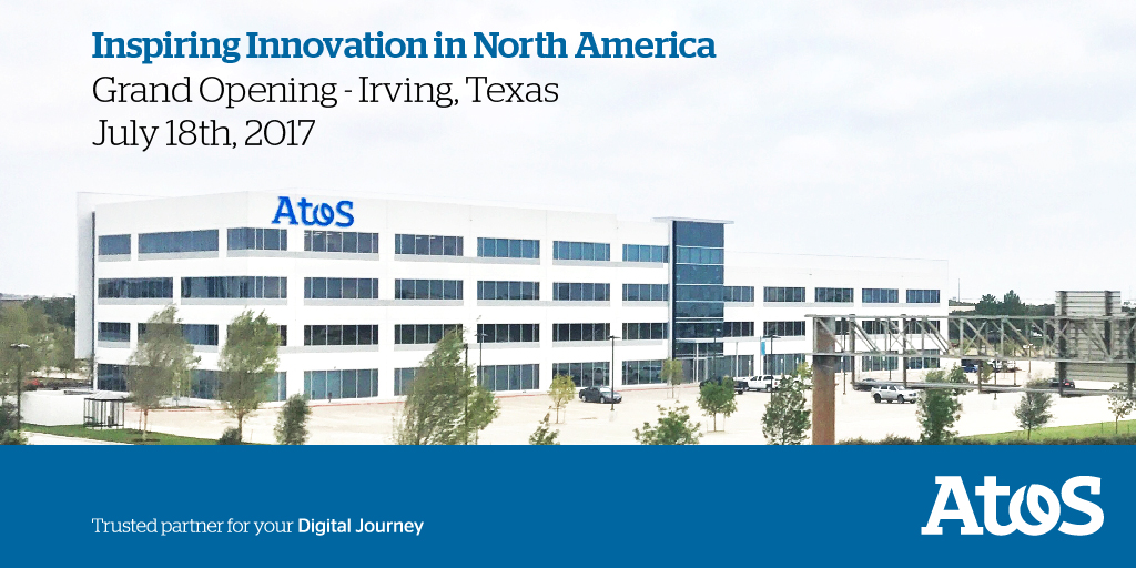 Atos Opens New North American Regional Headquarters in