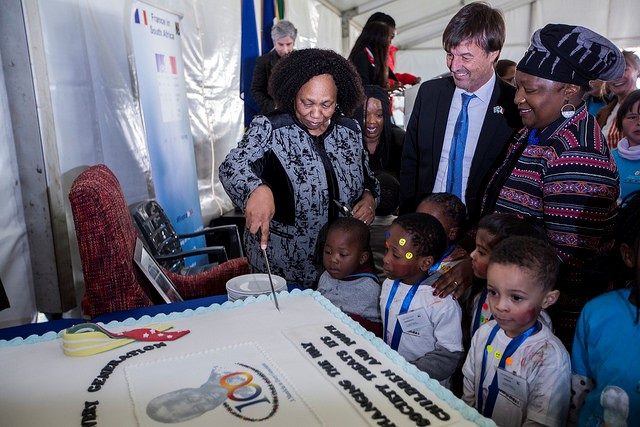 We partnered with the French Embassy in South Africa & the Nelson Mandela Children's...