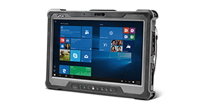 Atos Cybersecurity tablette durcie Getac A140 Elexo