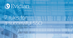Atos cybersecurity Evidian 7 rules SSO en