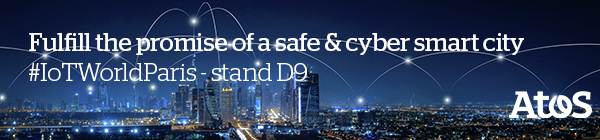 IoT World 2020 Atos - Fulfill the promise of a safe and cyber smart city