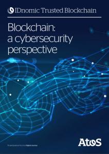 Atos cybersecurity IDnomic Trusted Blockchain