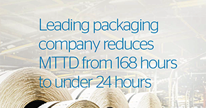 Atos cybersecurity MDR use case Packaging company