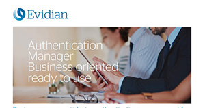 Atos cybersecurity Evidian Authentication manager factsheet