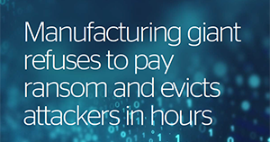 Atos cybersecurity MDR use case Manufacturing