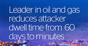Atos cybersecurity MDR use case Oil and gas