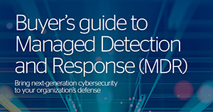 Atos cybersecurity Managed Detection and Response Buyer guide