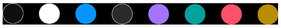 Atos Ecobrand color palette