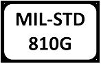 Atos Elexo MIL STD 810G logo white