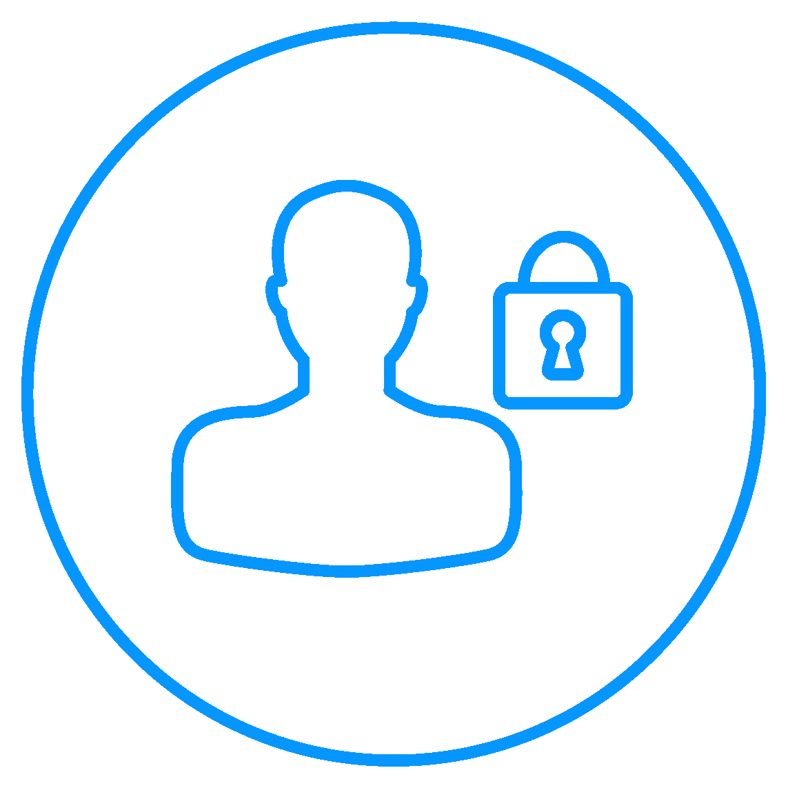 Atos cybersecurity Trusted Digital Identities blue