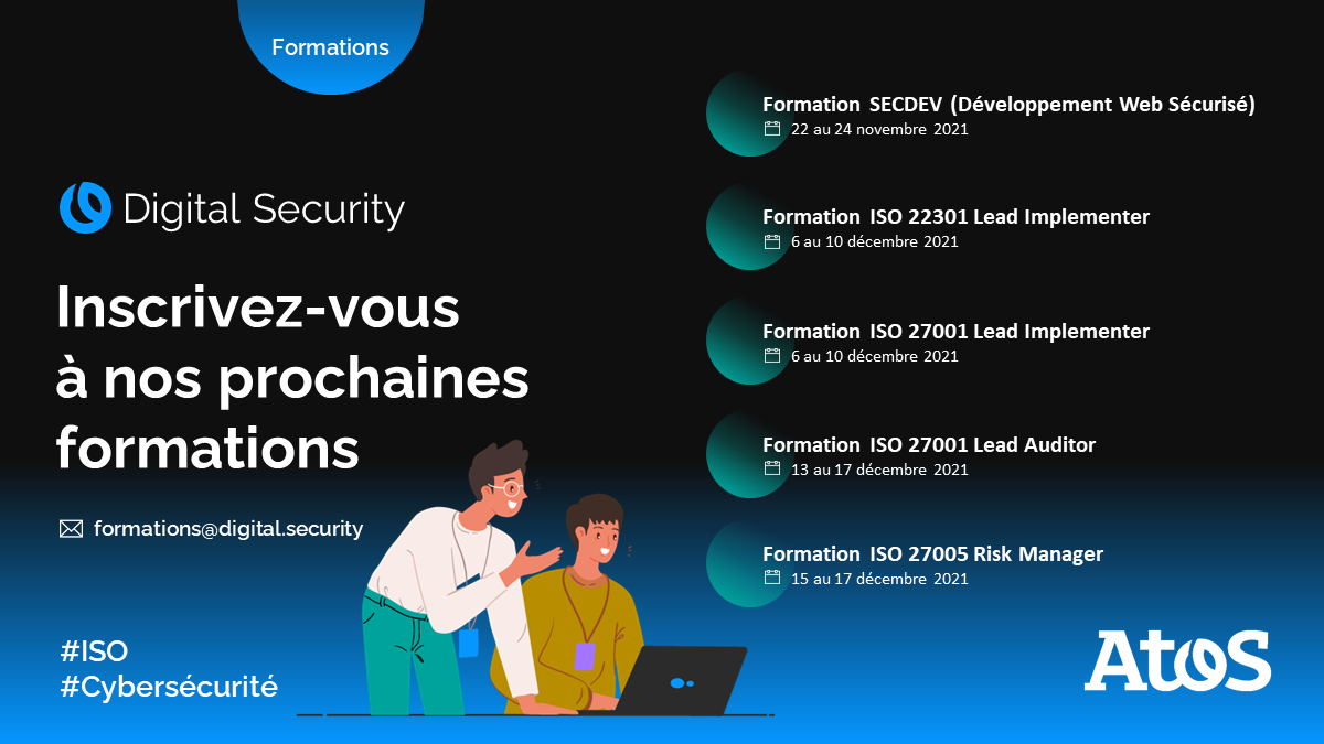Atos Cybersecurity Services formations